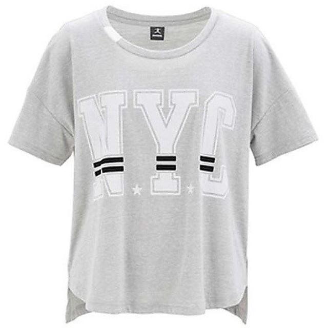 (セール)DANSKIN(ダンスキン)レディーススポーツウェア ワークアウトTシャツ TOPS ワークアウト Tシャツ クロップT DA75127 Z レディース Z