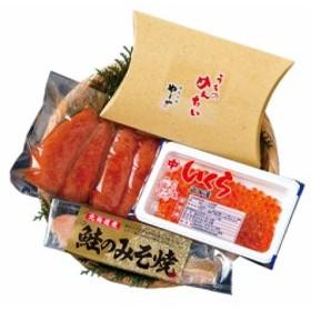 三幸 海鮮ギフト 北海道いくら 鮭とやまや明太子 詰合せ 2461-35