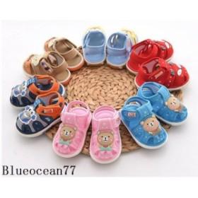 キッズ スニーカー ベビーシューズ 練習靴 子供靴 サンダル 女の子 ベビー靴 男の子 出産祝い 新 通気 キッズシューズ 子供 0-2歳