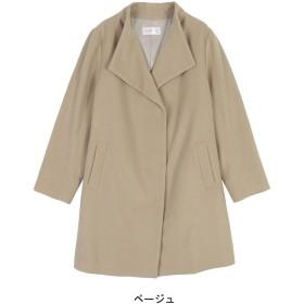 【50%OFF】スタンドカラーコート【L~5L】