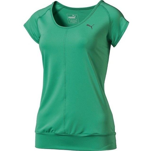 (セール)PUMA(プーマ)レディーススポーツウェア ワークアウトTシャツ TOPS バブルSS TEE Z 514537-03 レディース S 3