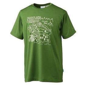 (セール)Columbia(コロンビア)トレッキング アウトドア 半袖Tシャツ ウィンディングコブルストーンTシャツ PM1229-355 メンズ 355