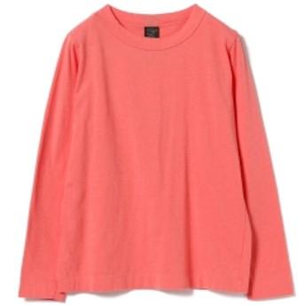 <WOMEN> homspun / ロングスリーブ Tシャツ レディース Tシャツ PINK M