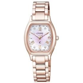 (国内正規品)(シチズン)CITIZEN 腕時計 ES9354-51W (クロスシー)xC レディース 八重桜 サクラピンク 限定 チタンバンド 電波ソーラー(メール便不可)