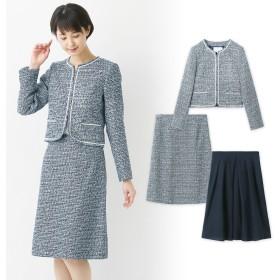 3点セットセレモニースーツ【ジャケット+2スカート】【9AR~17AR】