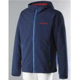 (セール)(送料無料)Columbia(コロンビア)トレッキング アウトドア 薄手ジャケット CHELM JACKET PM3131-425 メンズ COLUMBIA NAVY