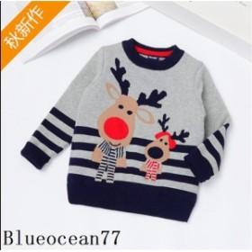 子供服 キッズ 子供ニット 冬服 子供服 セーター 長袖 キッズニット クリスマス 裏起毛 暖かい 可愛い セーター