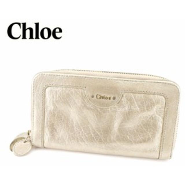 super popular d547a 0e9b0 クロエ Chloe ラウンドファスナー財布 長財布 レディース メンズ ...