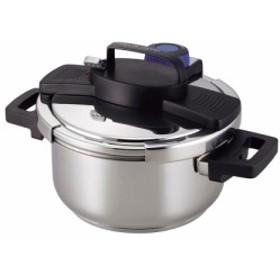 内祝い お祝い 圧力鍋 | サーモス 3層底ワンタッチレバー圧力鍋4.0L H-5388 [圧力鍋] 内祝い 記念品 婚礼 …