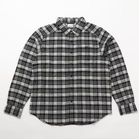 Columbia(コロンビア)トレッキング アウトドア 長袖Tシャツ コーネルウッズフランネルロングスリーブシャツ AE1523-015 メンズ BLACK PLAID