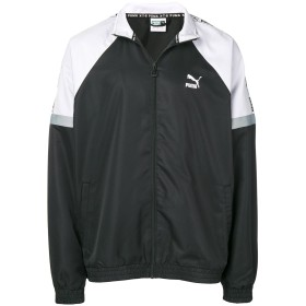 Puma ロゴ トラックジャケット - ブラック