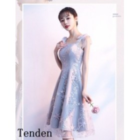ウエディングドレス 二次会 ミニドレス 二次会 演奏会 結婚式 姫系ドレス イベント パーティー 刺繍フリルドレス ファスナー シンプルド