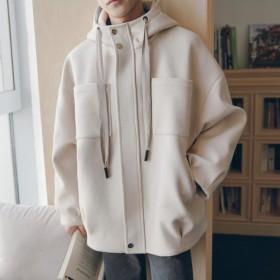 新作 メンズ アウター ジャケット jacket コート coat ステンカラー 上着 カジュアル 秋 冬 厚3色