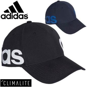キャップ 帽子 メンズ レディース アディダス adidas リニアキャップ トレーニング ランニング 陽射し対策 UPF50 熱中症対策 スポーツ アクセサリー/FSO12