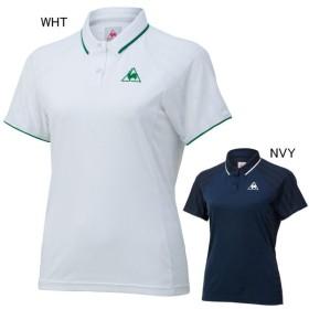 161944ef90f0c5 ルコックスポルティフ テニス ユニホーム ゲームシャツ レディース 半袖ポロシャツ le coq sportif QTWNJA51