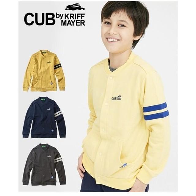 f0ad84f176199 アウター CUBbyKRIFFMAYERカットソージャケット(男の子 子供服・ジュニア服) ニッセン nis