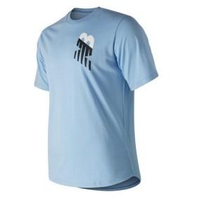 ニューバランス(new balance) アスレチックバ−ト半袖Tシャツ AMT91571SSY (Men's)