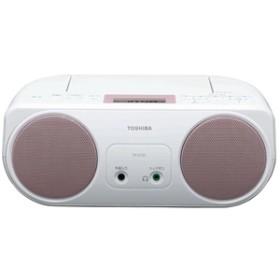 【東芝】 CDラジオ TY-C151(P) CDラジオ