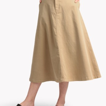 【Theory】S Twill Flare Skirt