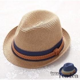 パナマ帽 ストローハット 麦わら帽子 ハット 海 旅行 透気性 帽子 UVハット 日よけ帽子 夏 春夏 麦わら ベージュ ネイビー レディース 夏