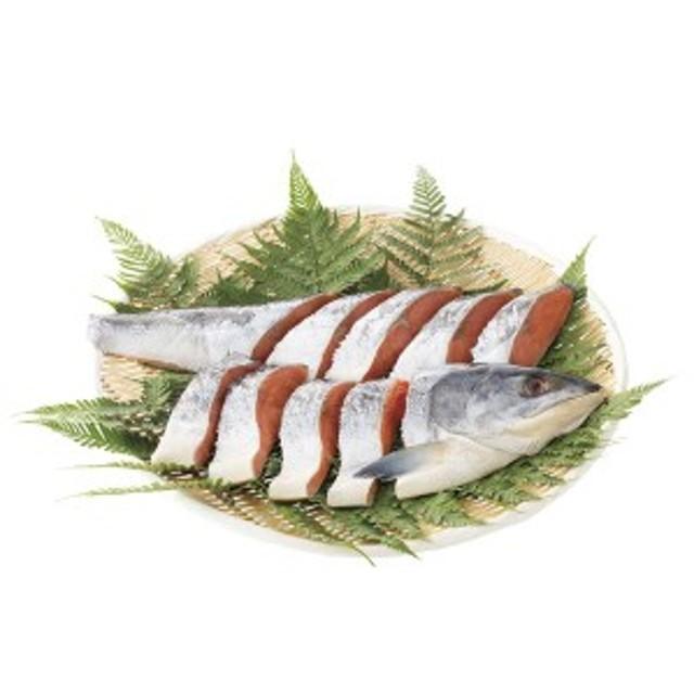 北海道産銀毛新巻鮭姿切身 (7100)