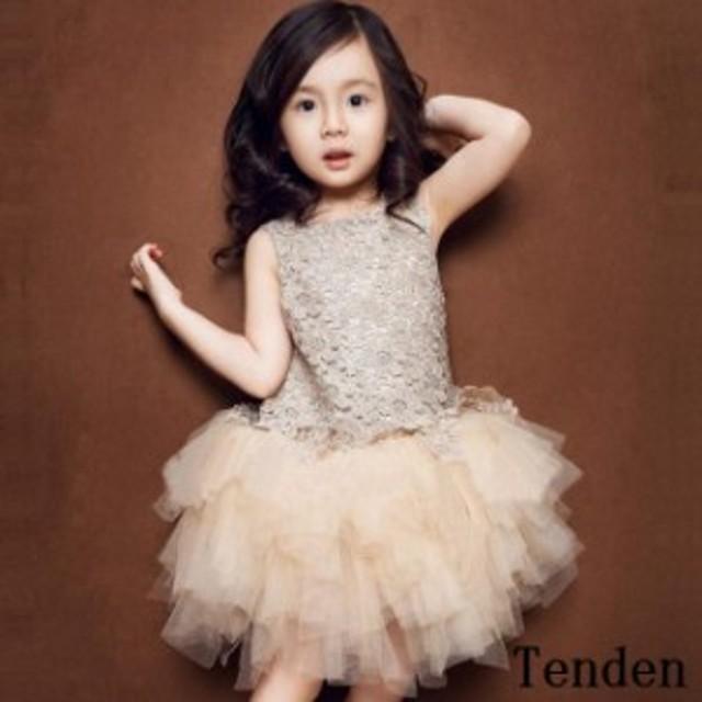 83fda194f2735 子供ドレス 女の子 フォーマルワンピース チュールドレス 姫 キッズ用100150cm パーティードレス ドレス チュチュワンピース