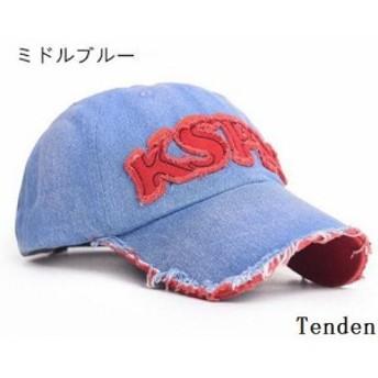 メンズ キャップ帽子 ワークキャップ 紫外線カット ぼうし レディース 紫外線対策 ゴルフ デニム ハット 代引不可 UVカット ジーンズ 男