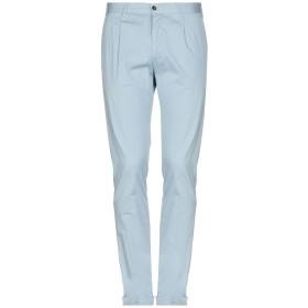 《期間限定セール開催中!》ST PANTS メンズ パンツ スカイブルー 52 コットン 97% / ポリウレタン 3%