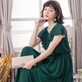 ドレス お呼ばれ 結婚式 パーティードレス ンピース結婚式 ドレス 大きいサイズ 二次会102 お呼ばれ