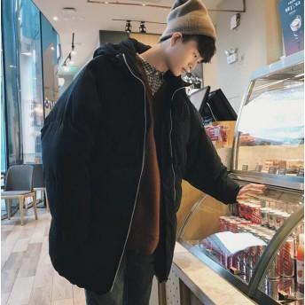 メンズファッション 新しい綿服 男女兼用 長い金 羽毛ジャケット 綿入れの服 韓国ファッション パン服 コート 上着 冬 厚いパン服