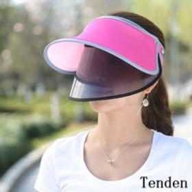 帽子 サンバイザー つば広ハット 日焼け対策 作業用 自転車用 レディース ワイド UVカット 日傘代わり 紫外線対策 日除け UV帽子 飛ばな