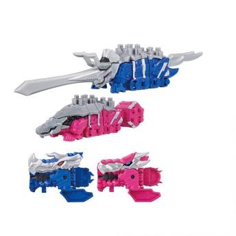 【オンライン限定価格】騎士竜戦隊リュウソウジャー 騎士竜シリーズ02&03 DXトリケーン&DXアンキローゼ