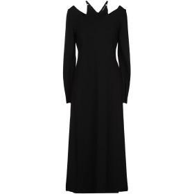 《送料無料》A.L.C. レディース 7分丈ワンピース・ドレス ブラック XS レーヨン 63% / ナイロン 32% / ポリウレタン 5%