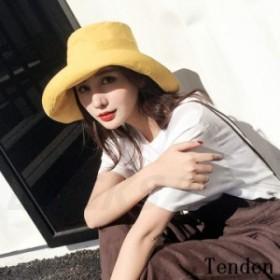 帽子 つば広ハット ぼうし UVカット 日焼け対策 小顔効果抜群 折りたたみ オシャレ 日除け レディース ワイド ワイドハット 紫外線対策