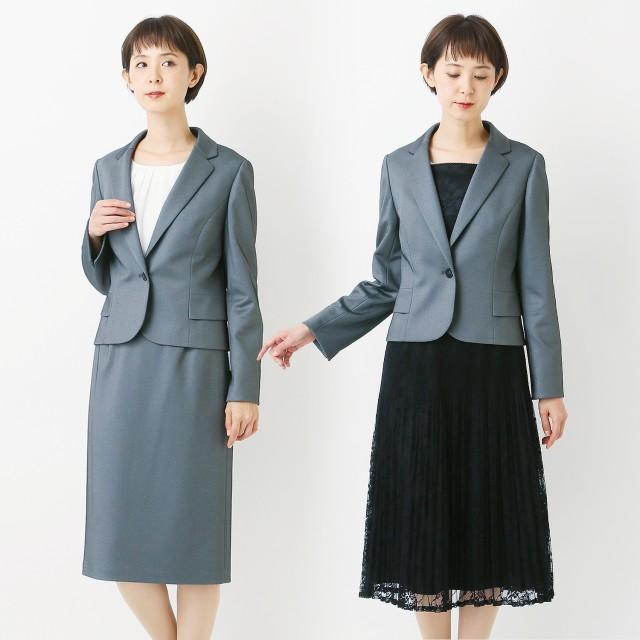 セレモニー3点セットスーツ◎通勤にも【ジャケット+2スカート】