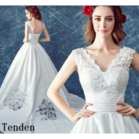 高級 ウェディングドレス 結婚式 花嫁ドレス マーメイドライン 二次会 オフショルダー 超豪華なトレーンドレス トレーン スレンダーライ