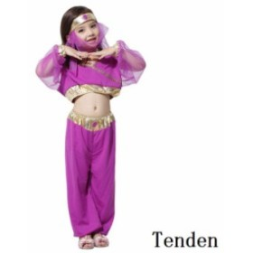 2c12fdec7a676 ハロウィン アラビア王女 コスプレ 子供用 パフォーマンス 子供服 ハロウィーン ドレス 仮装衣装