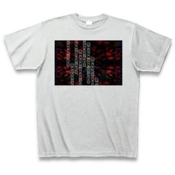 ◆有効的異常症候群赤◆アート◆ロゴ◆ヘビーウェイト◆半袖◆Tシャツ◆アッシュ◆各サイズ選択可