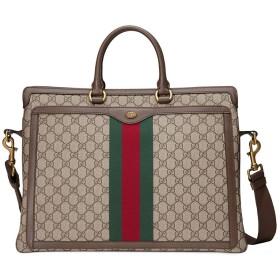 Gucci オフィディア GG ビジネスバッグ - ブラウン