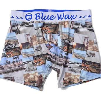 シルバーバレット BlueWaxCollage ボクサーパンツ メンズ その他 M(76-84cm) 【SILVER BULLET】