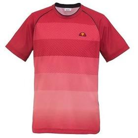 (セール)Ellesse(エレッセ)ラケットスポーツ アパレル クルーネックシャツ ETS05002 メンズ RD