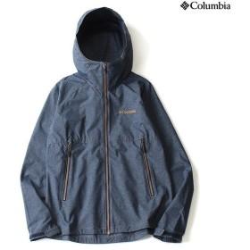 (セール)Columbia(コロンビア)トレッキング アウトドア 薄手ジャケット フロックスジャケット PM3179-427 メンズ COLUMBIA NAVY HEATHER