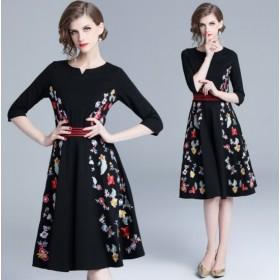結婚式ドレス お呼ばれ ワンピース 結婚式二次会 20代 30代 40代 ワンピドレス ワンピースドレス 結婚式 お呼ばれドレス パーティドレス K319