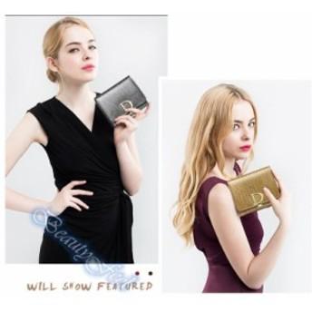 三つ折り財布 レディース財布さいふサイフ小銭入れありギフト 大容量 運気財布 ファスナー