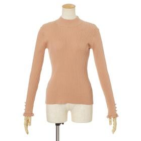 [マルイ]【セール】袖口飾り編みリブニットプルオーバー/F&A/フィント(FINT)