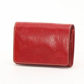 イタリアンレザー二つ折り財布/フォンス