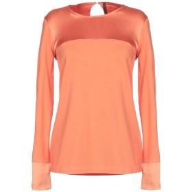 《期間限定 セール開催中》MANILA GRACE レディース T シャツ あんず色 1 レーヨン 92% / ポリウレタン 8% / シルク