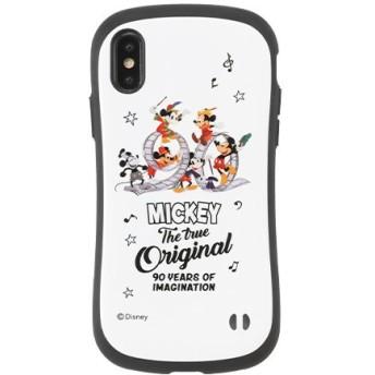 [iPhone XS/X専用]ミッキーマウス/90周年記念 /ディズニーキャラクター iFace First Class ケース 41-904718 ミッキーマウス/ロゴ/ホワイト
