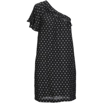 《セール開催中》8PM レディース ミニワンピース&ドレス ブラック XS 麻 100%