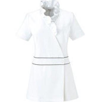 チトセ チュニック 女性用 ホワイト 13号 CL-0184(取寄品)